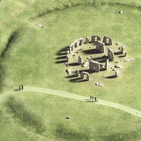 Illustration of Stonehenge